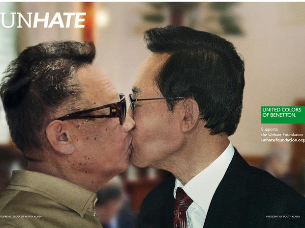 Benetton s Unhate Ad Campaign - Photo 4 - Pictures - CBS News 4b7c81be8f8