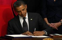 Obama signs jobs bill for veterans