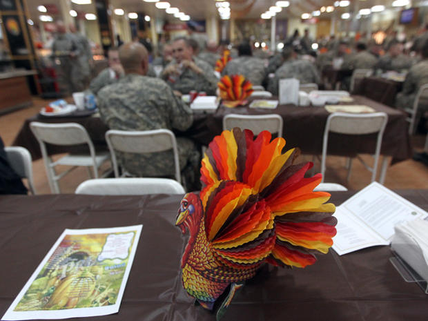 Thanksgiving for the troops