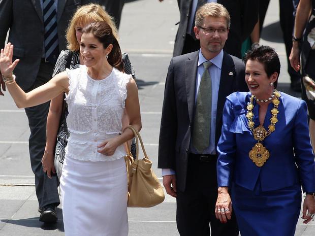Prince Frederik and Princess Mary visit Australia