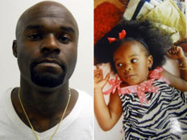 Arthur Morgan III is seen in this side-by-side image with his daughter Tierra Morgan, who was found dead Nov. 22, 2011.