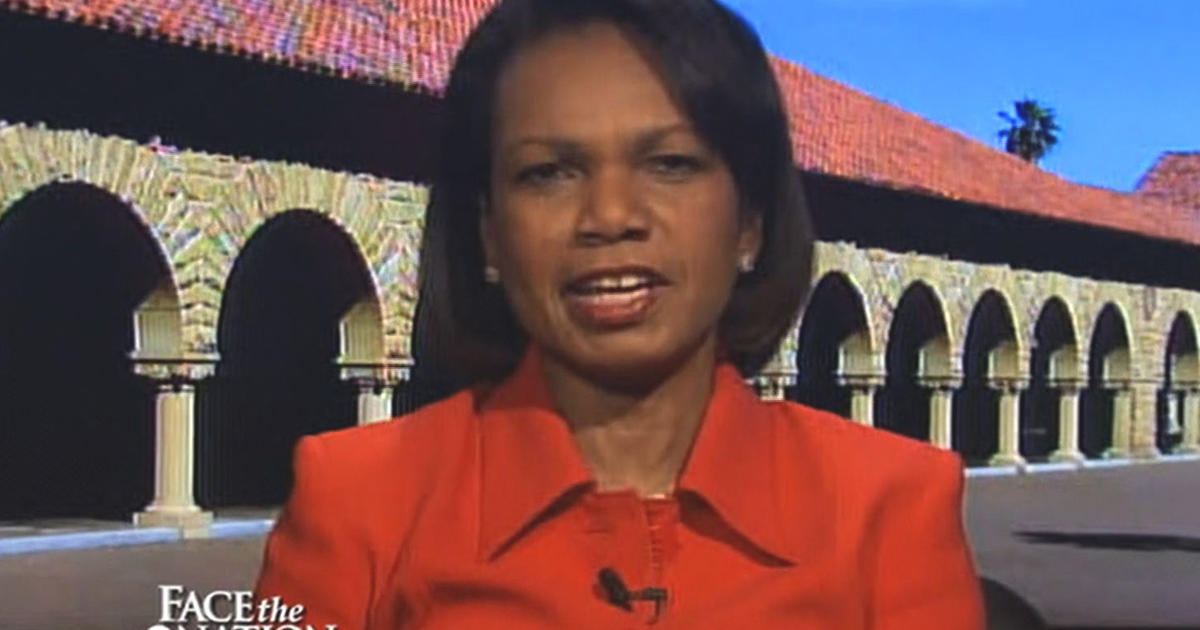 condoleezza rice interview full transcript cbs news condi rice u s will never be quot race blind quot cbs news