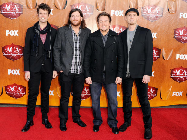 American Country Awards 2011 red carpet