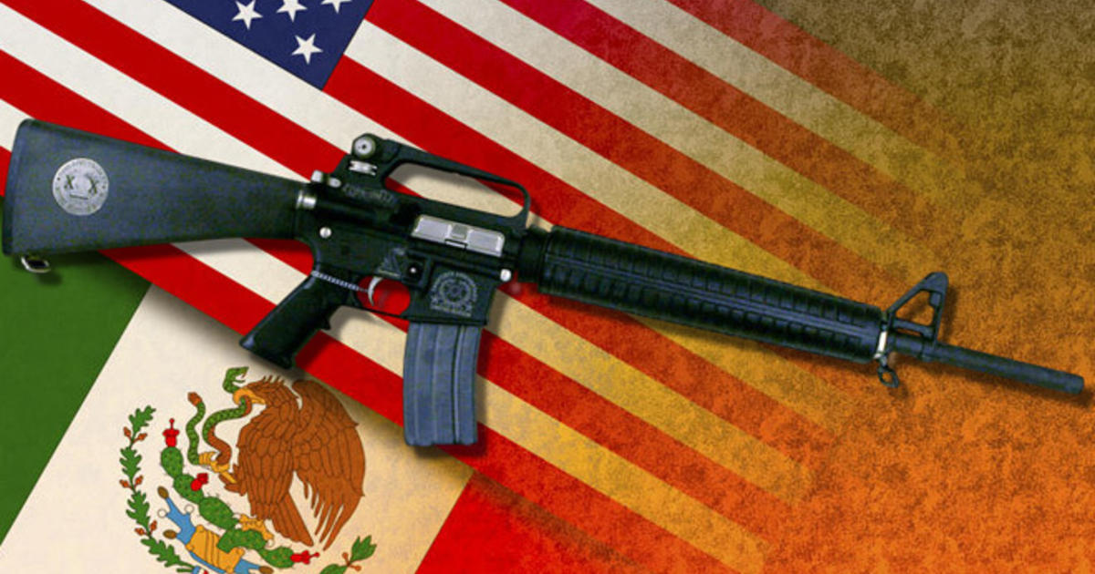 Legal U S Gun Sales To Mexico Arming Cartels Cbs News