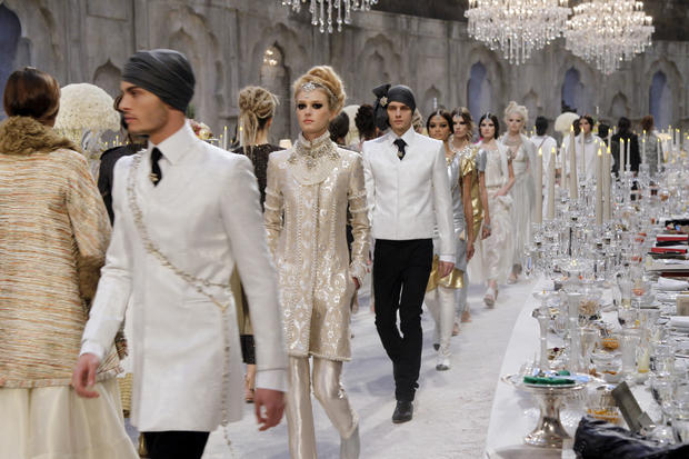 "Chanel's ""Paris-Bombay"" collection"
