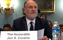 Corzine testifies on MF Global downfall