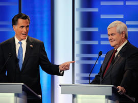 ABC News GOP Presidential Debate on the