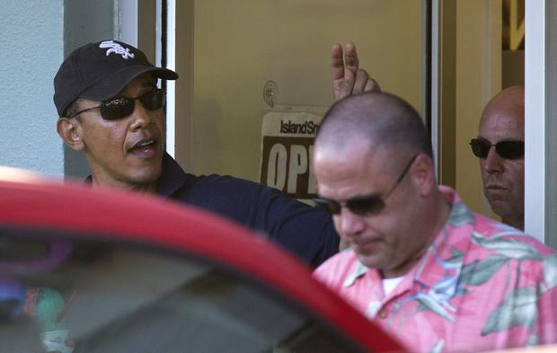 Obama family's Hawaiian holiday