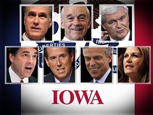 Iowa 2012 GOP candidates