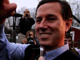 Santorum lowers expectations in N.H.