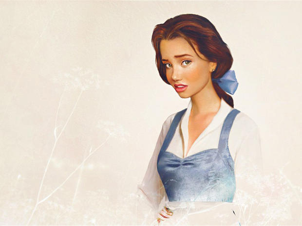 Belle From Beauty And The Beast Disney Princesses Envisioned