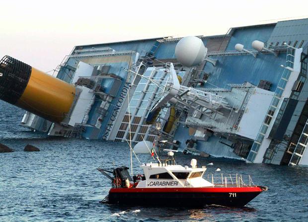 Cruise Ship Runs Aground Off Italy Dead CBS News - Cruise ship turns over