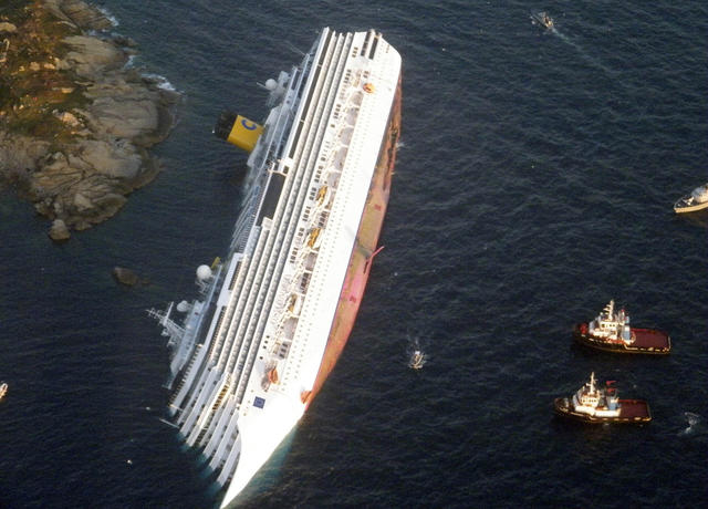 Luxury Cruise Ship Runs Aground Cbs News