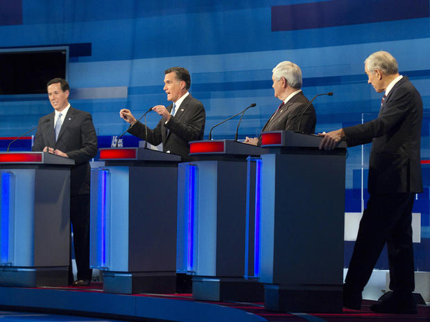 South Carolina Republican presidential candidate debate