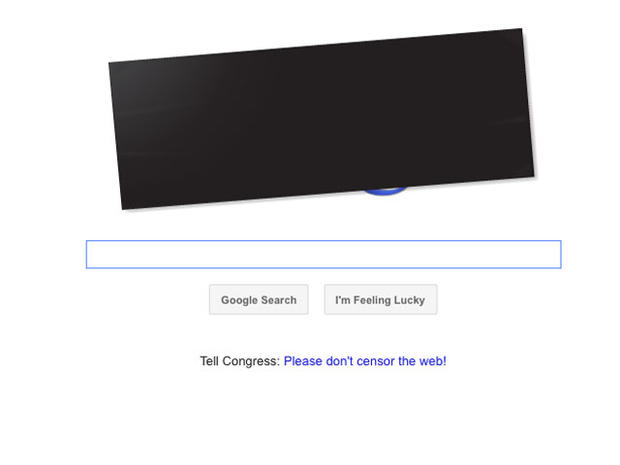 Websites go dark to protest SOPA