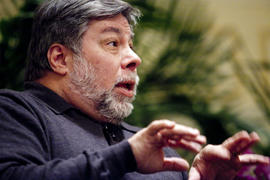 Wozniak speaking