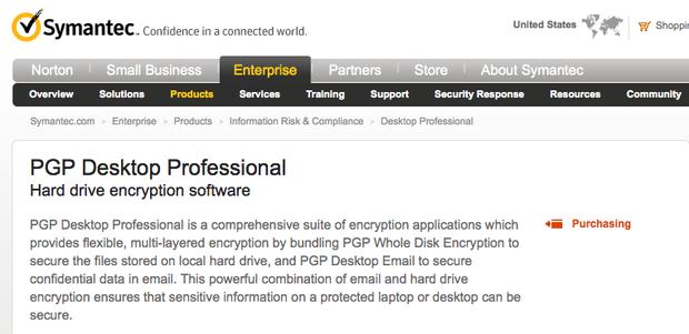 PGP Desktop: Even the FBI can't crack it!