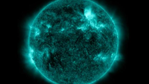 Solar flare's impact on Earth