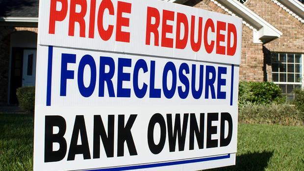 Foreclosure Yard Sign