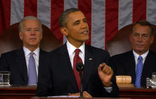 Obama asks for bill to end insider trading in Congress
