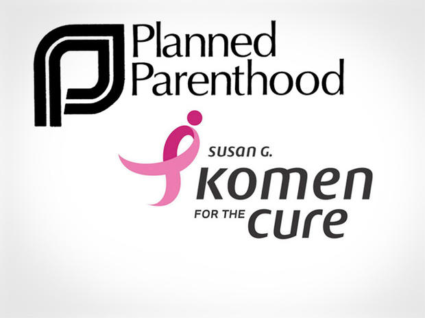 Planned Parenthood and Koman logos