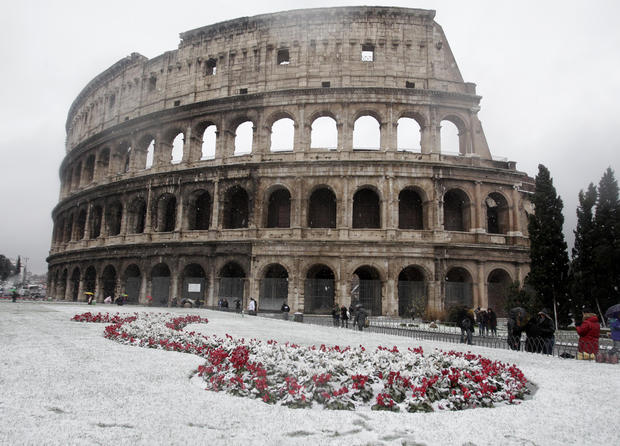 Severe, deadly cold sweeps Europe