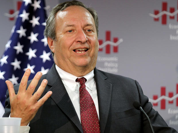 Then-National Economic Council Director Lawrence Summers addresses the Economic Policy Institute Dec. 13, 2010, in Washington.