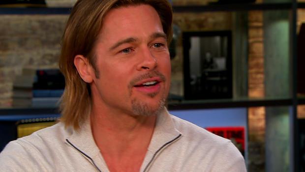 "Brad Pitt on ""CBS This Morning."""