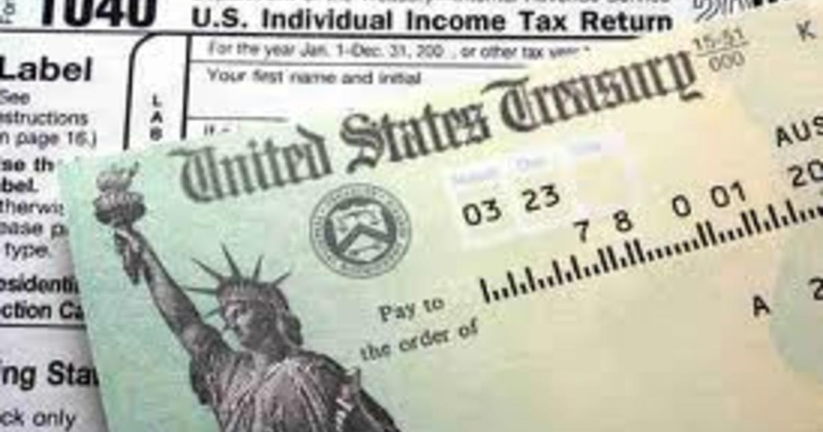 How to track your tax refund's whereabouts - CBS News