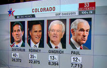 Impact of Santorum's momentum on GOP race