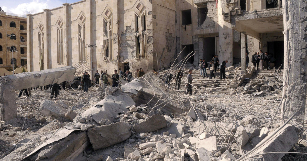 Blasts rock Syria's 2nd largest city, Aleppo - CBS News