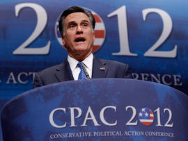 Romney touts conservatism at CPAC