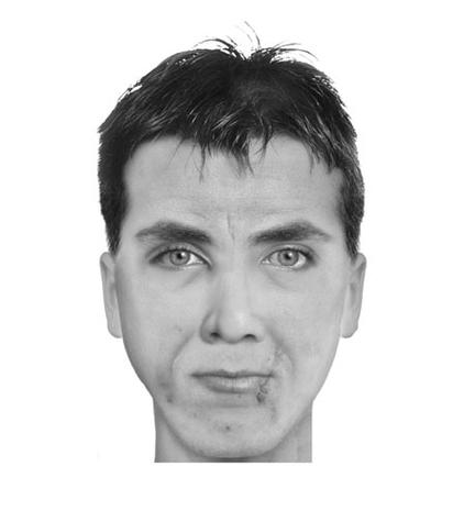 Fictional characters sketched by police software