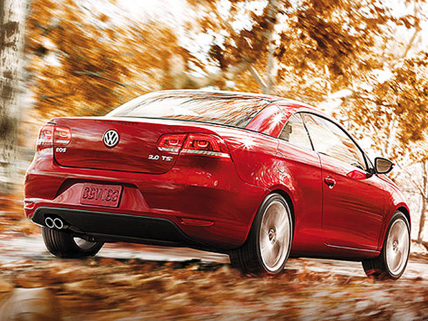 9  VW Eos - Toxic new car smell? Top 10