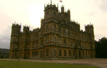 The castle from the real Downton Abbey