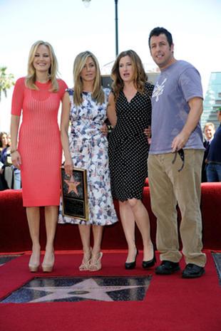 Jennifer Aniston's Hollywood Walk of Fame Star