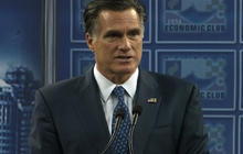 "Romney: I'm the ""only chance""  to beat Obama"