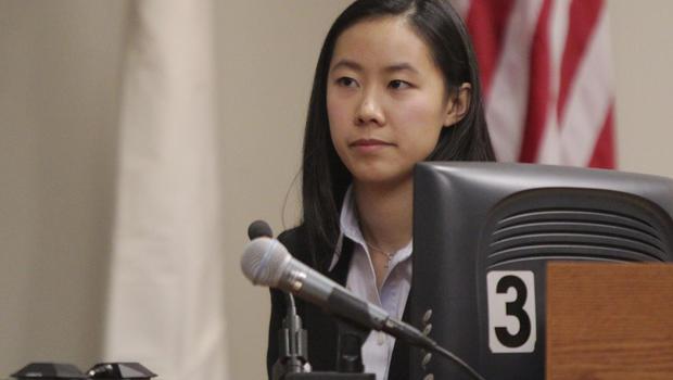 Molly Wei testifies during the trial of Dharun Ravi