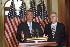 John Boehner, Mitch McConnell
