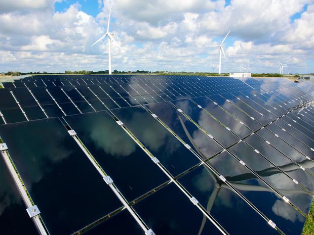 Abound Solar's thin-film solar panels.