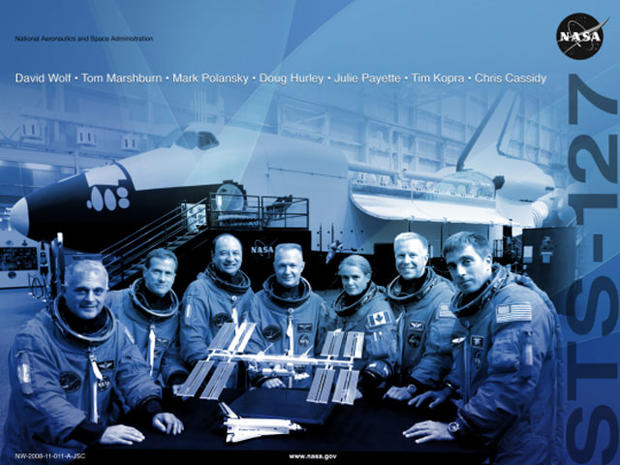 "Astronauts play stars in NASA mission ""movie"" posters"