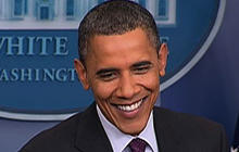 Obama to Romney: Good luck
