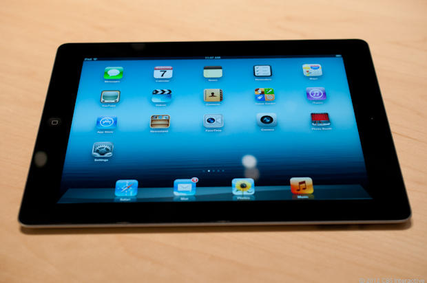 Apple's new iPad: Hands-on