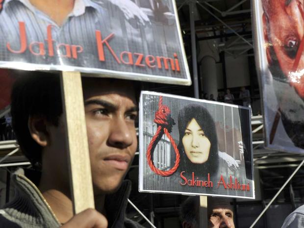 death penalty, executions, demonstrations, Iran, Sakineh Mohammadi Ashtiani