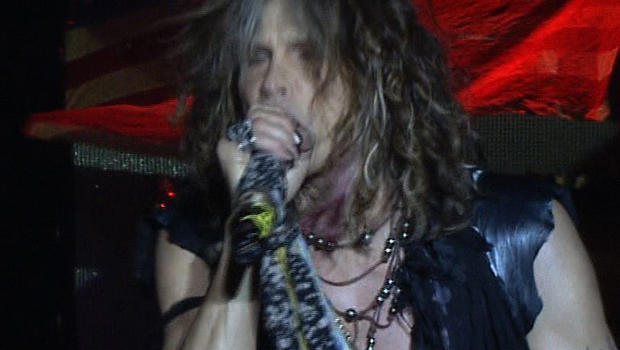 Aerosmith lead singer Steven Tyler during South American tour he says will be famous rock band's last