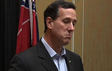 Santorum tries to lower expectations in Alabama