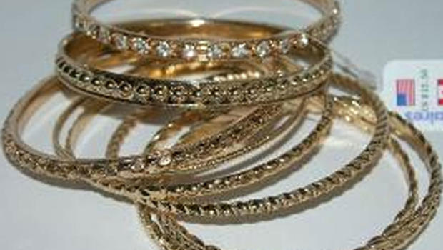 Costume jewelry found to have high levels of toxins and carcinogens