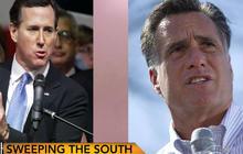 Who's in better shape: Romney or Santorum?