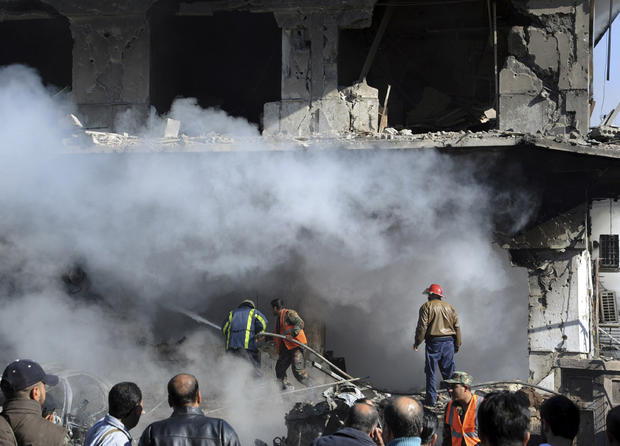 Blasts strike Syrian capital