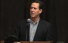 "Santorum: Romney is just a ""Wall St. financier"""